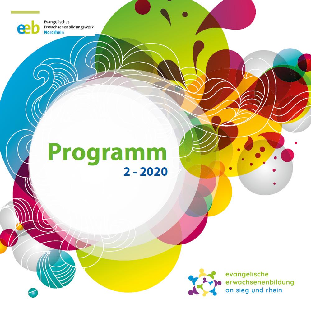 Titelbild des Programms der Erwachsenenbildung